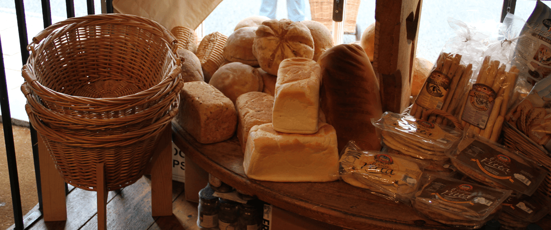 A selection of breads