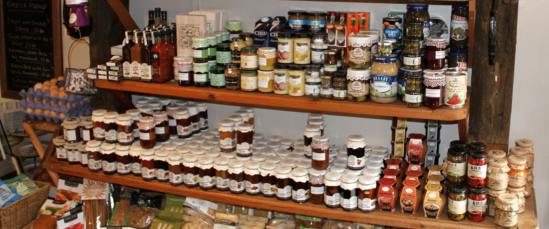 Jams, preserves and other jarred goods